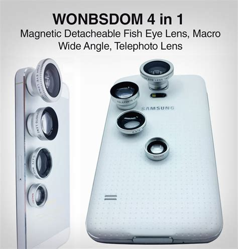 Universal Macro And Wide Angle Detachable Lens 10 best cell mobile phone lens kits you would to buy