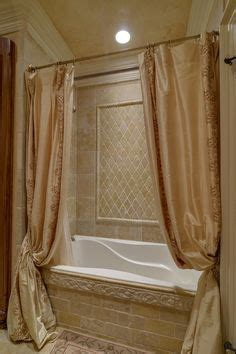 bathtub shower curtain surround 1000 images about bathtub ideas on pinterest shower