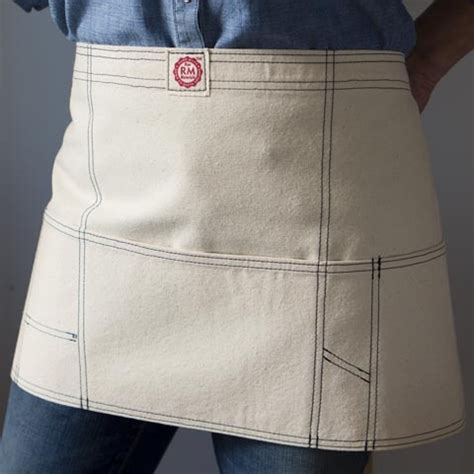 sewing utility apron gardener give away down to earth designed apron raw