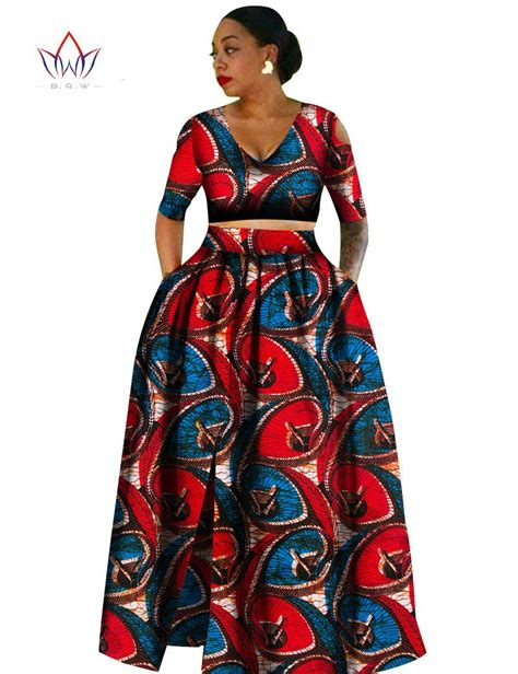 african print two piece outfits for women women african tradition 2 piece plus size africa clothing