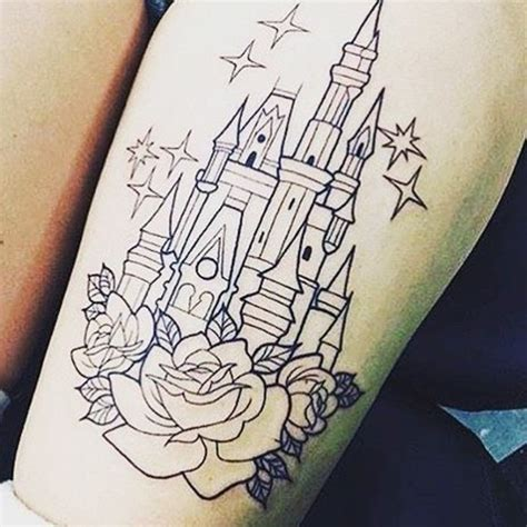 disney castle tattoos designs top 100 disney ideas that evoke nostalgia