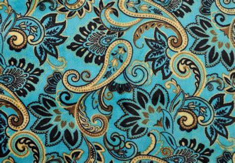design photo blanket euphoria soft plush throw blanket teal paisley design