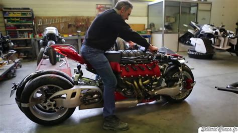 maserati motorcycle lazareth lm847 test sound v8 maserati powered youtube