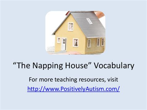 Lesson Plan For The Napping House House And Home Design The Napping House Lesson Plans