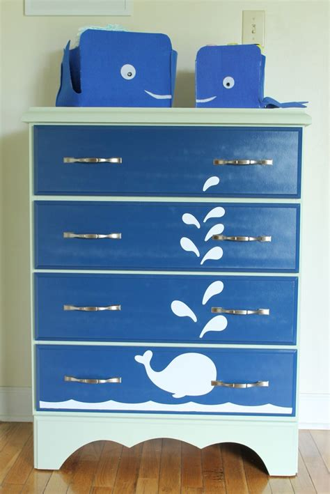 spray painting used furniture whale painted dresser furniture spray paint projects
