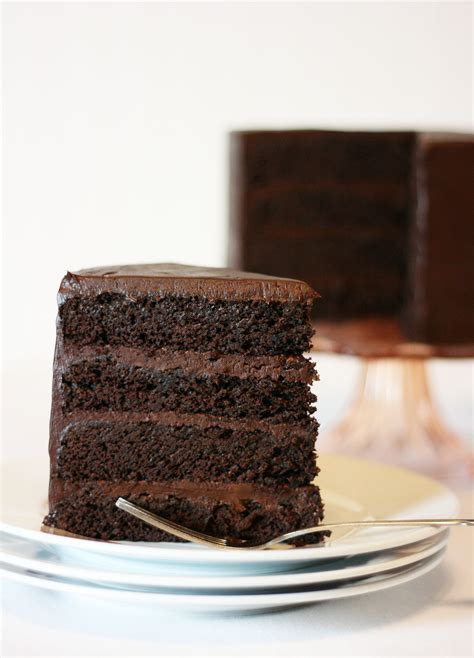 American Chocolate Cake american mud cake with sour chocolate frosting