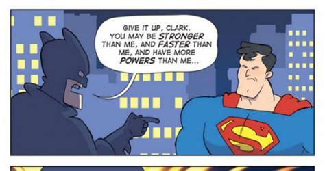 Superman Better Than Batman Memes - batman vs superman settled once and for all comic