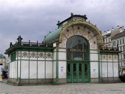 otto pavillon otto wagner pavillon karlsplatz in vienna austria