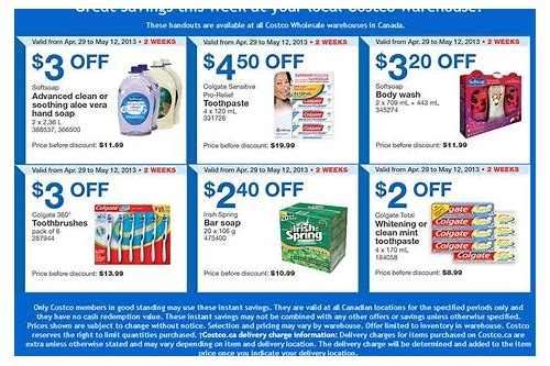 costco coupons online printable
