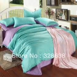 Turquoise and purple bedding set turquoise purple