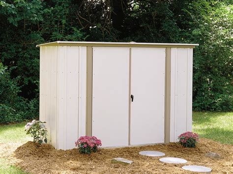 8 X 3 Shed Arrow 8 X 3 Metal Garden Storage Shed