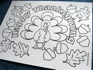 thanksgiving coloring placemats thanksgiving coloring pages thanksgiving printables for