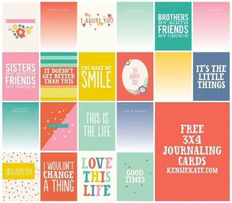 printable quotes for project life 9 best images of smash journaling printables smash book