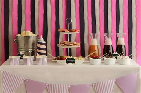 how to make an ice bar top party idea a diy ice cream sundae bar pretty mayhem