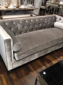 tufted silver couch home furniture couches pinterest