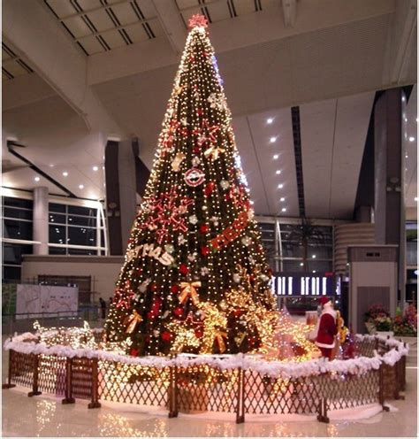 christmas decorations 500cm green christmas tree five