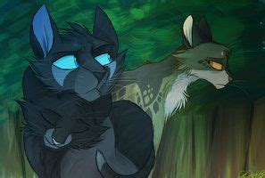 Leafpool, Nightcloud, and Crowfeather   Warrior Cats ... Leafpool And Crowfeather Mating