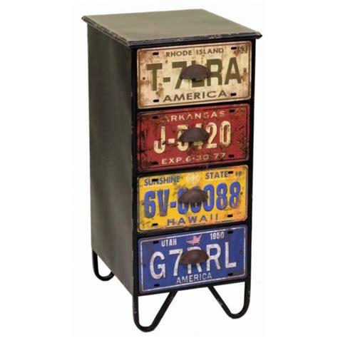 cassetti in metallo cassettiera metallo vintage cassetti targa