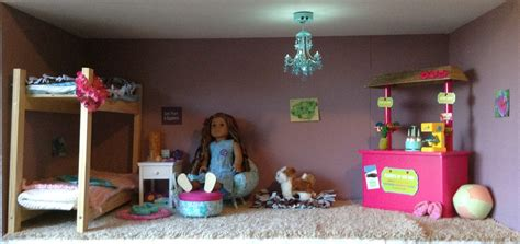 how to make an american girl bedroom american girl kanani s bedroom youtube