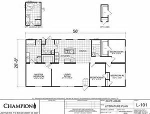 Champion Modular Home Floor Plans Homes Direct Price Fighter 4564b
