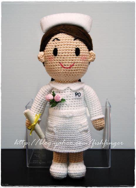 amigurumi nurse pattern amigurumi graduate nurse 01 by fish finger craft via