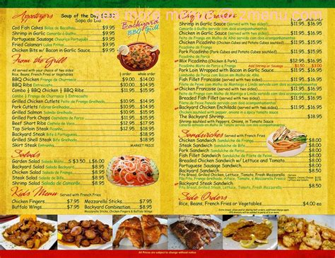 backyard grill riyadh menu backyard grill menu part 22 backyard grill menu riyadh