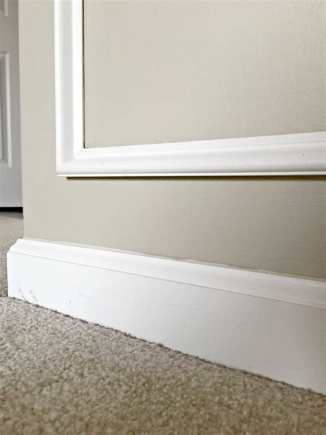how tall should baseboards be how to remove baseboards the easy way from thrifty decor