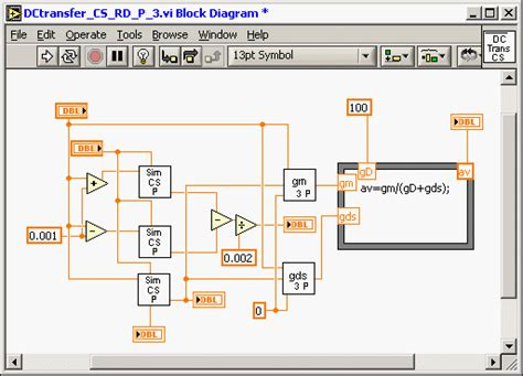 transistor gm gds mosfet lifier tutorial kla s