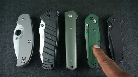 top edc knives top 5 smoothest edc knives