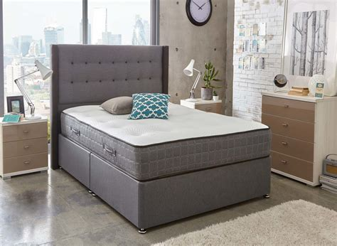divan beds sealy pocket premier 2200 divan bed medium ash