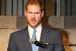 prince harry fidel castro prince harry observes moment s silence