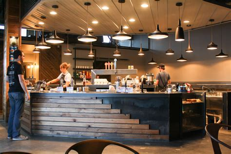 Cool Kitchen Lighting Ideas by Go Inside Cuvee Coffee S State Of The Art Austin Cafe