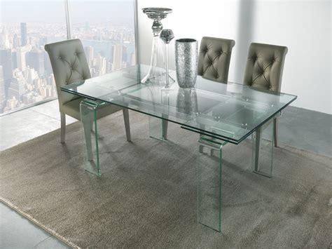 tavolo allungabile vetro tavolo allungabile vetro tavoli da cucina in vetro