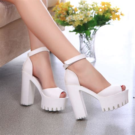 new style of high heels 2016 new style high heels sandals open toe sandals
