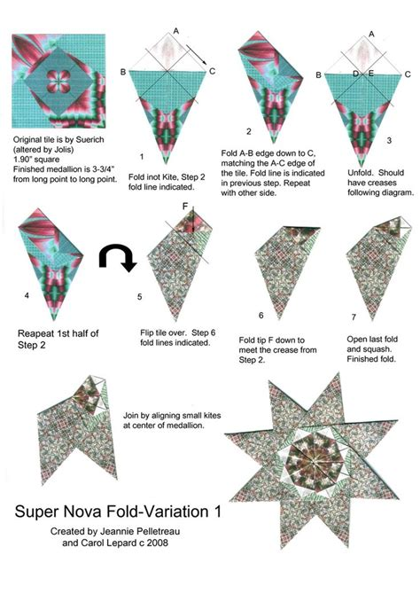 Tea Bag Paper Folding - 52 best tea bag folding patterns images on
