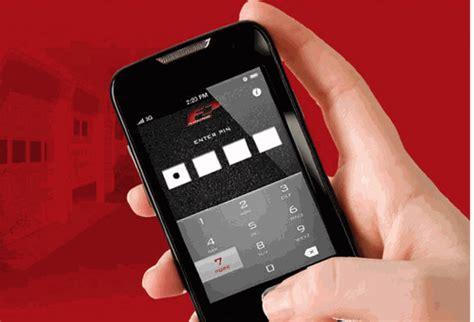 tappass smartphone garage door opener remote