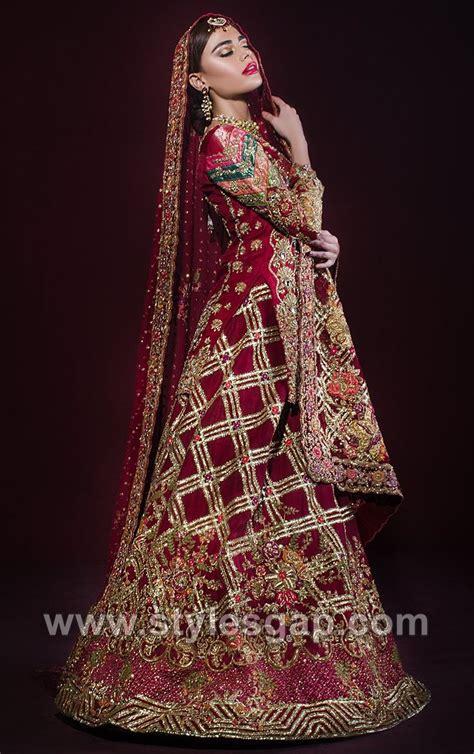 latest bridal dresses tena durrani wedding collection