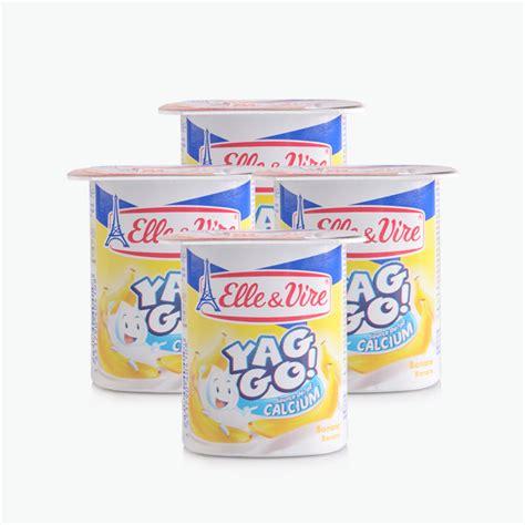 X2 Vire vire yaourt yaggo banane 125g x4