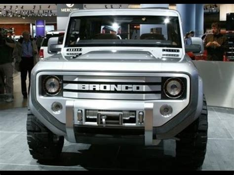 2016 ford bronco youtube