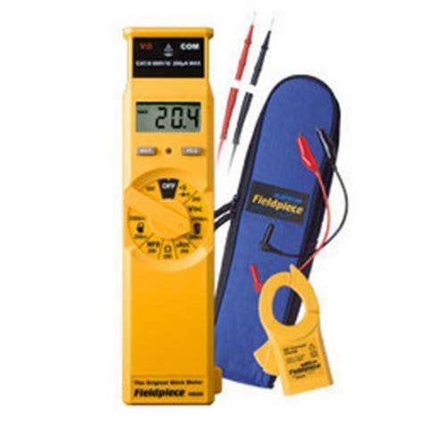 capacitance meter lowes fieldpiece hs26 original stick digital multimeter hvac r lowes home depot