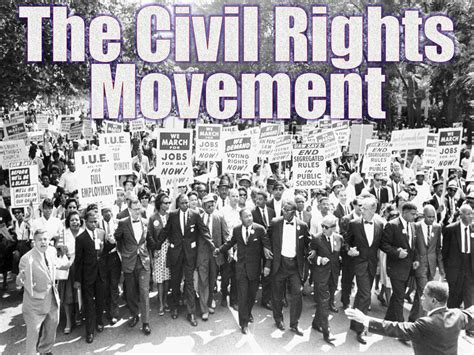 Civil Rights the new civil rights movement a new generation begins the