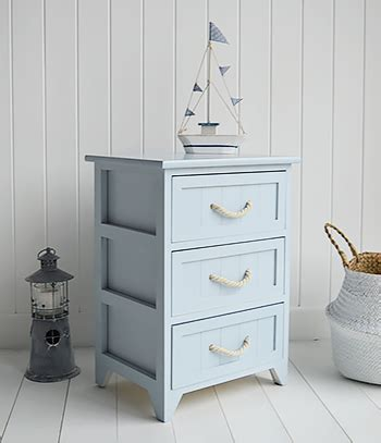 Huntington Beach Bathroom Cabinet 3 Drawers For Nautical Nautical Bathroom Furniture