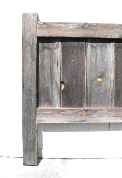 barnwood headboard 13 best images about barnwood headboards on pinterest
