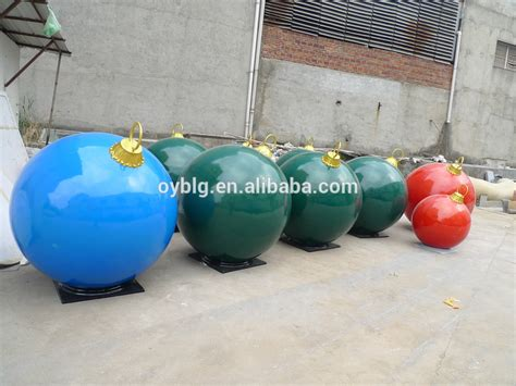 places that sell big christmas lutside balls selling outdoor decoration fibreglass large sphere buy