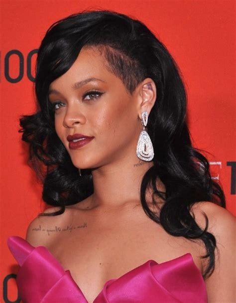 black hairstyles rihanna rihanna black curly long hairstyles 2013 popular haircuts