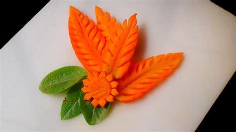 simple carrot leaf design 3 beautiful designs fruit