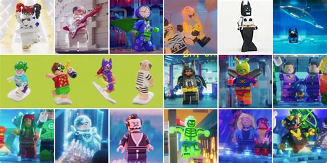 Lego 71020 Batman Cmf Series 2 Complete 20 Minifigures 71020 the lego batman minifigures series 2 la liste des 20 personnages 224 collectionner