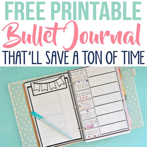 free printable homemaking journal free printable bullet journal pages simple made pretty