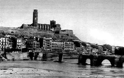 Fotos Antiguas Lleida | lleida antigua desde el margen izquierdo lerida lleida