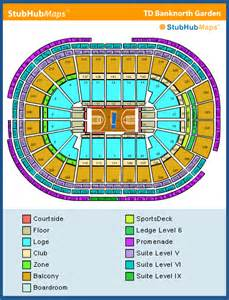 Td Garden Layout Td Garden Seating Chart Pictures Directions And History Boston Celtics Espn